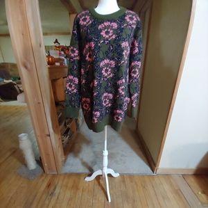 ZARA KNIT.  Sweater/Tunic. Oversized. Ultra Heavy.